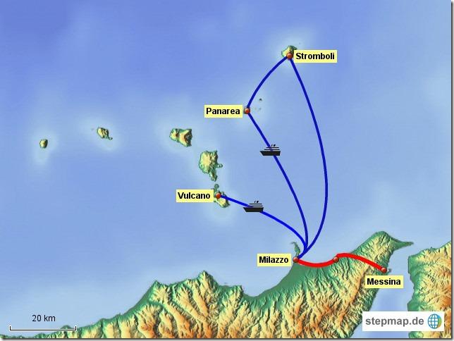 Liparische Inseln