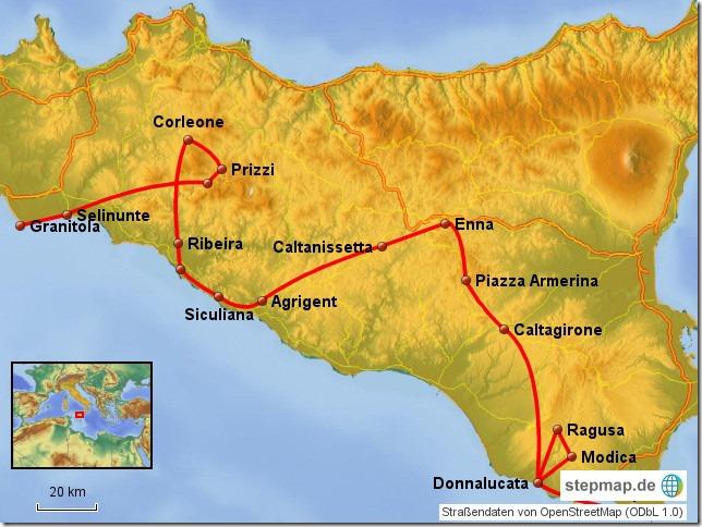 Sizilien 2016 - Süden, Landesinneres